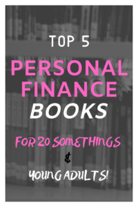 Best books for young adults finance